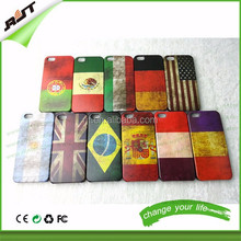 11 kinds national flag hard PC phone case for iphone 6 cover case Germany Mexico USA UK Italy France Brazil Spain