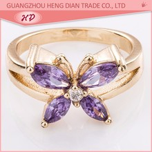 zirconia style latest gold rings design for women with price 2015