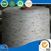 polyester ring spun neps yarn