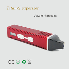New comer! VaporSource vaporizer pen Hebe Titan 2 dry herb vaporizer with 100% high quality guarantee