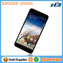 Cheap Mobile Phone With Skype Doogee Dg650 Mobile Gsm Cdma Dual Sim Dual Standby Mobile Phone 6.5 Inch Big Screen