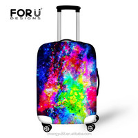 Popular beautiful protect trolley bag travel accessories
