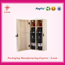 Best selling custom wood luxury wine carrier