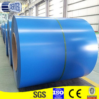 prepaint galvanized steel coil/color coated aluminum sheet/ral 5015 blue made in China