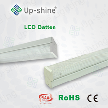 China supplier PF>0.9 5700K best price High lumen pvc batten with 5 years warranty with T8 tube in it