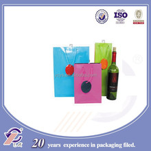 New style branded cotton handle paper shopping bag