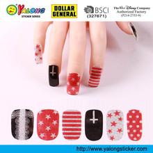 Fashion Full Cover Nail Sticker,Nail Art Sticker,3d Nail Sticker
