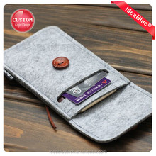 Cheap felt cell phone case, Best quality and customize your own logo
