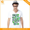 Screen Printing High Quality Custom Fitted T Shirt