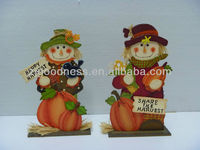 GOOD SALE 11-1/4''H 2 Asst. Small Free Standing Ornament Harvest Decoration