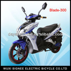 Blade-300: 2000W Brushless DC Motor, 72V battery, High power electric motorcycle!