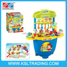 2015 new toy kitchen toy set color dough play set cooking set toy for children