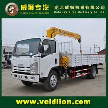 3.2 ton truck with crane, truck crane for sale,crane truck