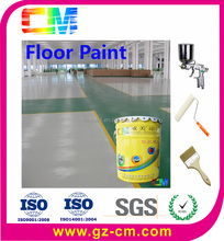indoor high quality Polyurethane Floor Paint with smooth surface