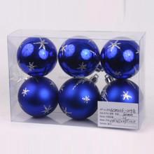 wholesale fashion clear plastic christmas ball ornament
