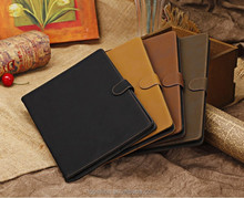 For iPad Air 2 Case Classical Flip Stand Leather Skin Case