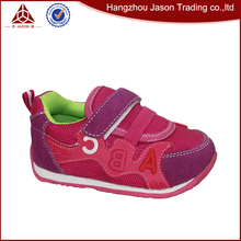 wholesale fuchsia leather working hard sole baby shoes