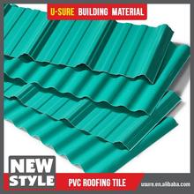 Easy installation concrete waterproofing material pvc roof tile