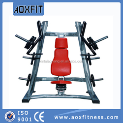 commercial gym fitness equipment body building machine incline chest press AX8901