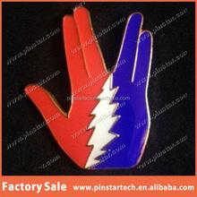 China Supplier wholesale Custom New products Live Long & Play Dead Pin grateful dead star trek furthur spock prosper