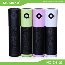 Promotional gifts! fashionable 2600mAh lipstick mobile portable power bank for mobile phone /ipad/MP3/MP4