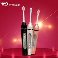 Famous WoMaide brands sonic pulse vibration 4 function electric toothbrush brands
