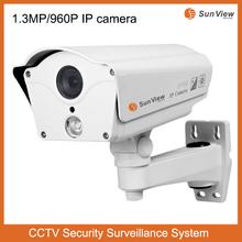 960P P2P IR Bullet CCTV CMOS 1.3MP IP video 3d ip camera