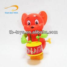 Venda quente acabar pequeno brinquedo de plástico Mickey Mouse