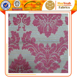 Window curtain fabrics turkey jacquard chenille upholstery fabric