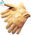 la seguridad de un solo producto de palma del guante señora manga larga guantes de cuero