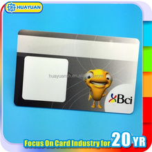 Identity fashion top sell printing glossy effect pvc card