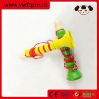 trumpet toy wooden cheap mini trumpet