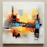100% original creation Canvas Oil Painting, Abstract Oil Painting for bedroom, Handmade Oil Painting 60x60cm