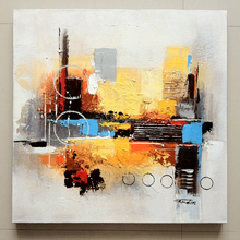 Abstract Oil Painting for bedroom, 100% original creation Canvas Oil Painting, Handmade Oil Painting 60x60cm
