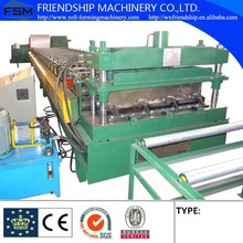 Iron Floor Deck Plate Roll Forming Machine