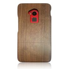 2 Unidades Tipo Natural Talla <span class=keywords><strong>de</strong></span> Madera Caja Del Teléfono Móvil para HTC M8, talla <span class=keywords><strong>de</strong></span> madera caja del teléfono