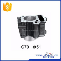SCL-2012120661 70CC Cylinder Block 51mm ,47mm for C70 Motorcycle Parts
