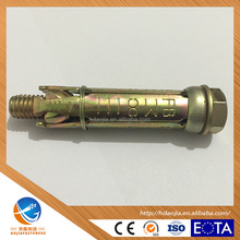 High Quality M8 Heavy duty 4pcs Shield Anchor/Fix bolt/ Fix bolts/ made in China