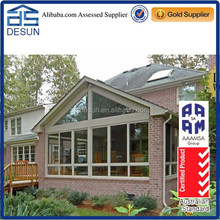 Best manufacturer aluminum frame triangle roof alminium sunroom in China