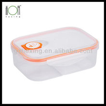 Lunch Box Food Grade Plastic Food Container with Divider for sale