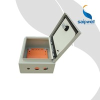 Saip/Saipwell Custom China Manufacture Electronic Stainless Steel Enclosure IP66 Waterproof Outdoor Metal Lock Box Wall Mount