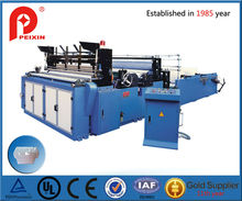 Full-automatic Edge-trimming Tail-gluing Embossming Rewinding and Perforating Toilet Paper Machine