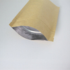 1kg Kraft paper packing bag for coffee/Side guesst plastic packing coffee bag