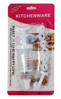 Icing Fondant Cake Decorating Tip Set Piping Syringe Model Tools