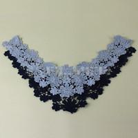 Fancy 100% cotton blouse collar design neck design CB5119