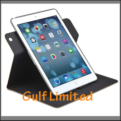 2014 Ultraslim turnable clip case leather case for IPAD 5
