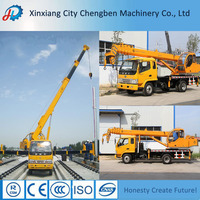 Chengben Famous Power Energy Saving Off-road Truck Crane