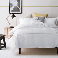 250-300tc hotel design european style jacquard white bedding bedding set bed linen bed sheet duvet cover pillowcase set