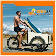 3 wheel family electric cargo bike /cargo trike with kids /dutch cargo bike