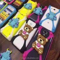 Colorful bumper Mobile Phone silicone bumper cell phone case universal flexible bumper phone case